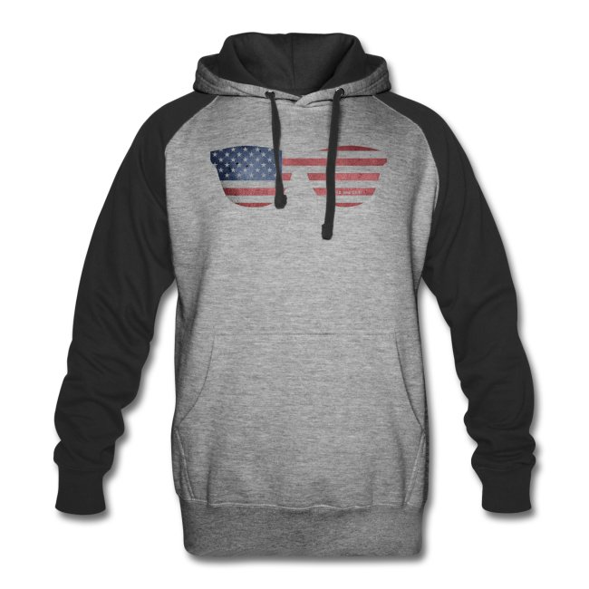 American Flag Hoodies